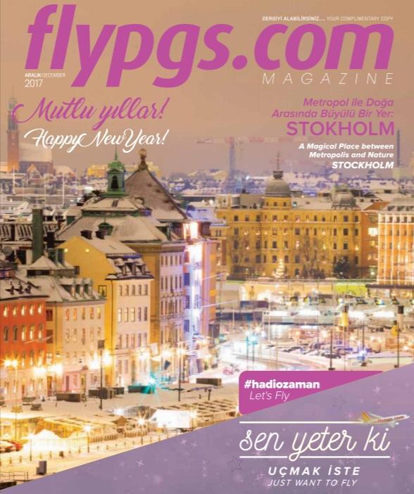 Pegasus Magazine Aralık 2017 / H 100 Aşısı